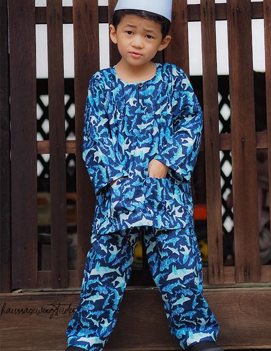 Baju Melayu Kanak-kanak