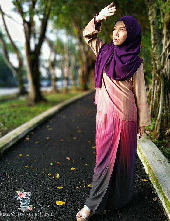 kurung kedah collection by haurra sewing