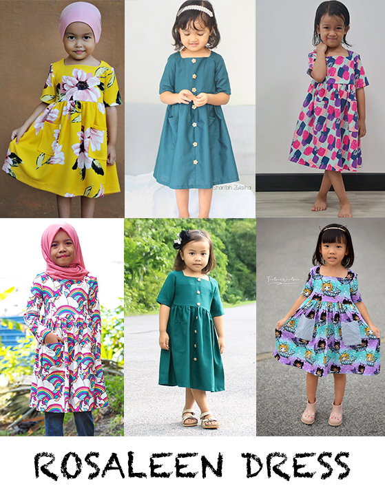 girls gathered dress